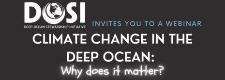 webinar on climate change in the deep ocean