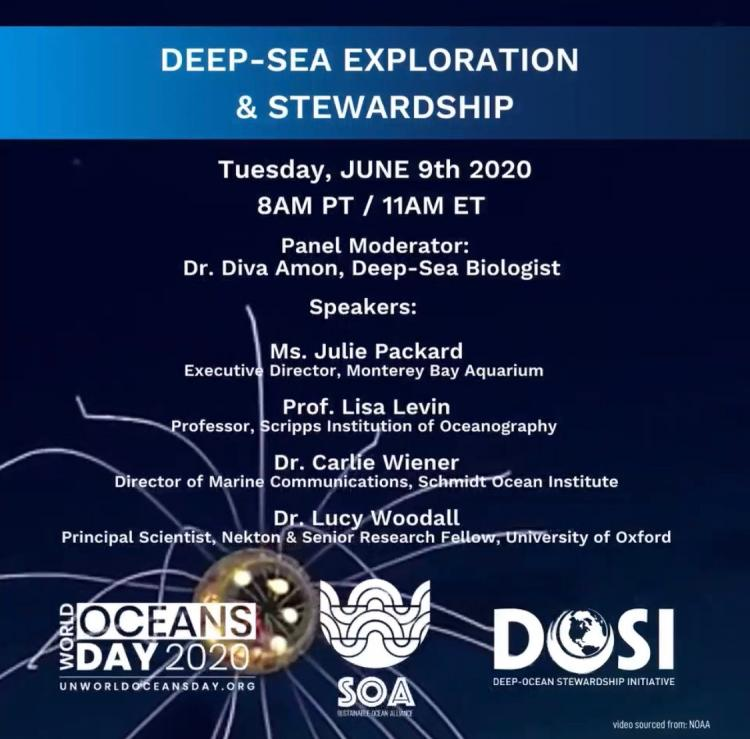 Deep-sea at world ocean day