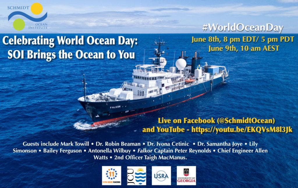 Schmidt Ocean Institute World Ocean Day
