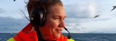 Deep-sea ecologist Hronn Egilsdottir of the Marine and Freshwater Research Institute, Iceland